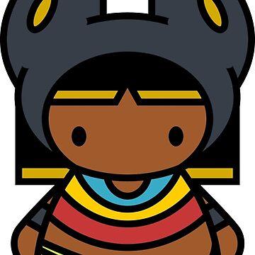 Hello Anubis! Masked Form by tanzelt