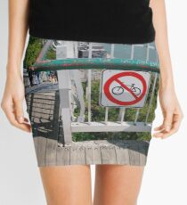 Traffic sign, #Traffic, #sign, #TrafficSign Mini Skirt