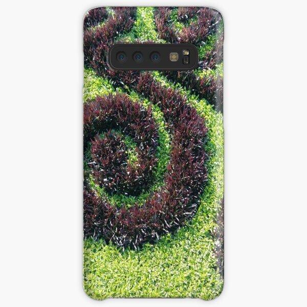 #nature #garden #growth #lawn #grass #leaf #field #agriculture #yard #outdoors #farm #environment #horizontal #colorimage #plant #land #naturalparkland #publicpark #agingprocess #bush #colors Samsung Galaxy Snap Case