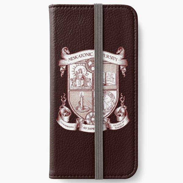 Miskatonic University Coat of Arms iPhone Wallet