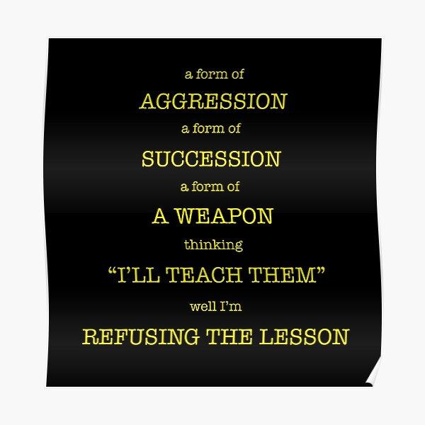 Leçon Poster