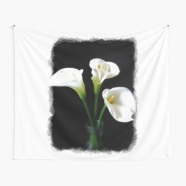 Elegant Calla Lily Flowers 10 Tapestry