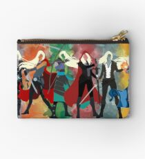 Thron aus Glas Serie Aquarell Studio Clutch
