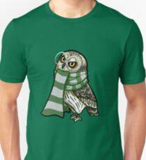 Cunning Short-Earred Owl Unisex T-Shirt