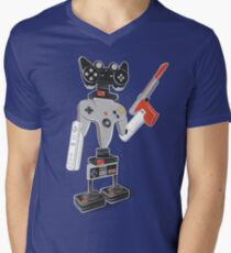 ControlBot4000 Men's V-Neck T-Shirt
