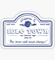 conan gray idle town Sticker