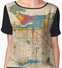 City of Vancouver, British Columbia : zoning diagram (1931) Chiffon Top