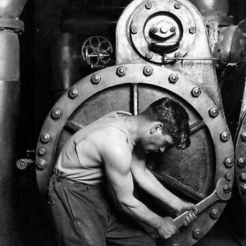 Power House Mechanic 1920 - Lewis Hine  by warishellstore