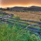 Sunset over Hardscrabble Farm by toby snelgrove  IPA