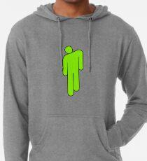 billie eilish green logo Lightweight Hoodie