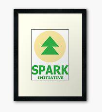 Spark Initiative Regular Show  Framed Print