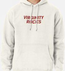 Virginity Rocks Weiß oder Schwarz Hoodie