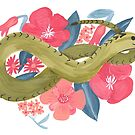 Floral Snake by Harmonycornwell