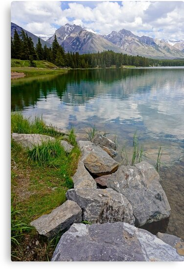 Johnson Lake, Alberta by Harry Oldmeadow