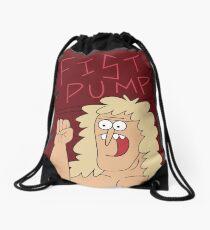 Fist Pump Poster Regular Show Drawstring Bag