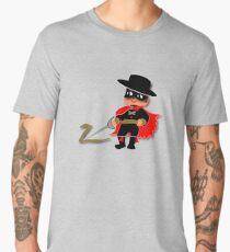 Retro Kid Billy features the legendary Zorro  Men's Premium T-Shirt