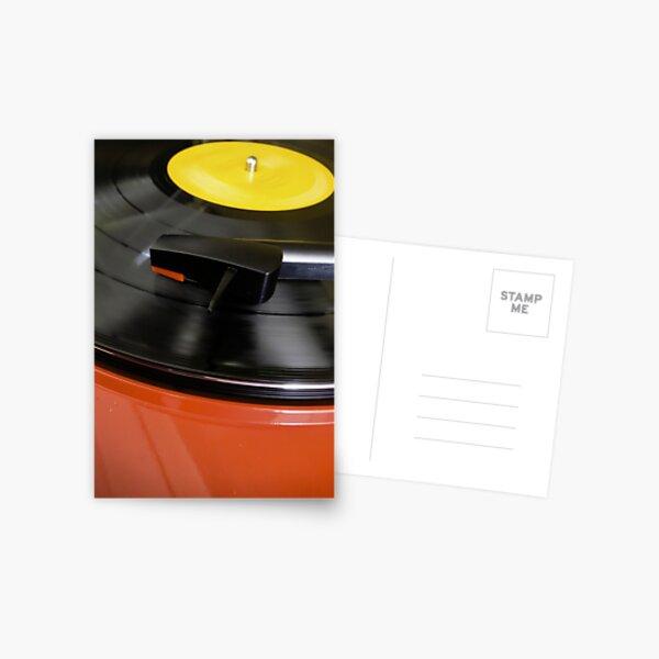 Vinyl Fever........... Postcard