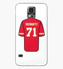 Mitchell Schwartz Jersey Case/Skin for Samsung Galaxy