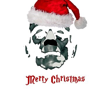 Funny Frankenstein monster Merry Christmas cult horror lover gift t shirt by Johannesart