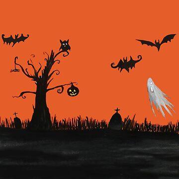 Halloween Night  by Manitarka