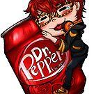 Mystic Messenger - 707 Loves Dr. Pepper by spacespud