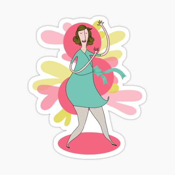 Let's go dancing Sticker