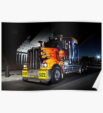Custom Kenworth Poster