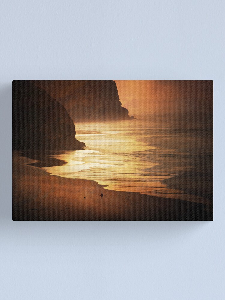 Alternate view of Time and Tide  Canvas Print