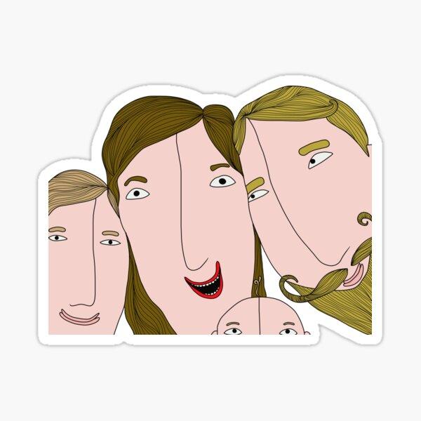 Family selfie Sticker
