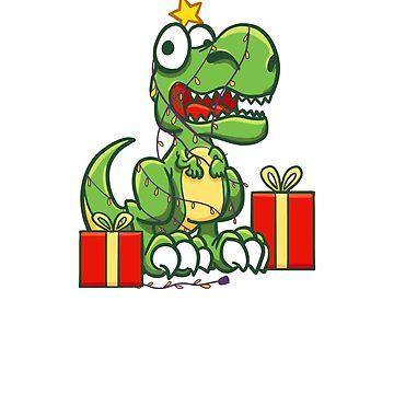 Tree Rex // Funny T-Rex Sweats // Dinosaur Silly Puns Sweater // Cute Christmas Gift Sweatshirt Shirt Tee by FanaticTee