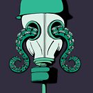 Poisonous Gas Mask with Tentacles by uauizaui