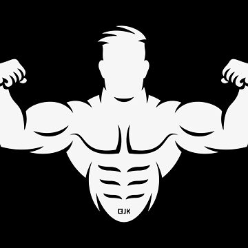 Bodybuilder (Bodybulding / Biceps / Athletic Sports / White) by MrFaulbaum