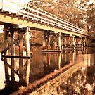 Old Railway Bridge by pennyswork