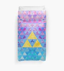 Geometrische Zelda Bettbezug