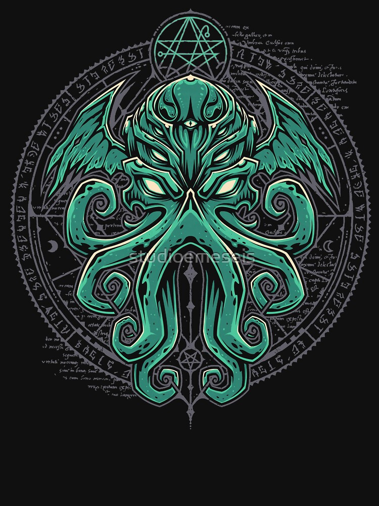 Great Cthulhu by studioemeseis