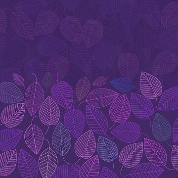 LEAVES ENSEMBLE ULTRA VIOLET by aCVPia