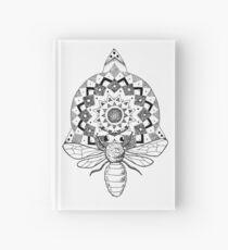 Bienen-Mandala Notizbuch