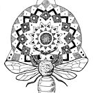 Bienen-Mandala von georgiamason