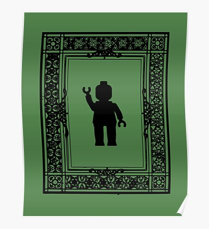 PARISIAN WAVE, by Customize My Minifig Poster