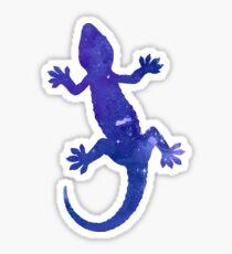 Gecko Silhouette Sticker