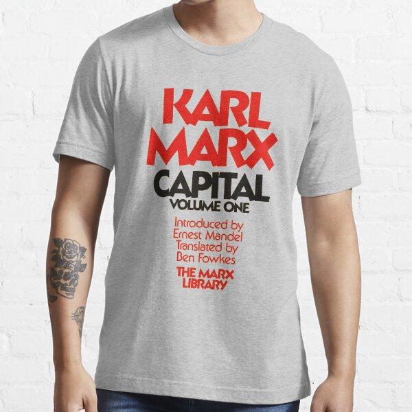 Capital Karl Marx Book Cover Essential T-Shirt