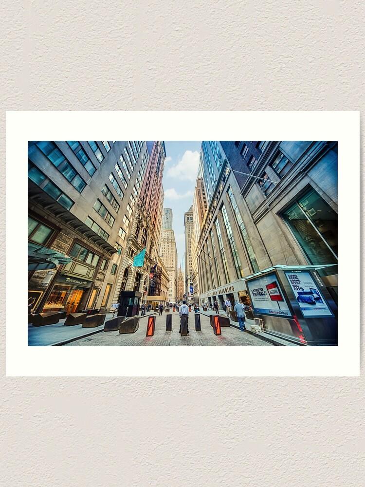 Alternate view of Wall Street Art Print