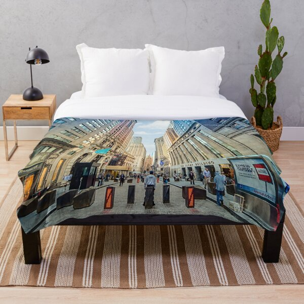Wall Street Throw Blanket