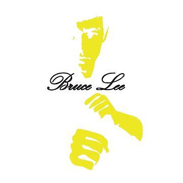 Bruce white tee. by Designeatore