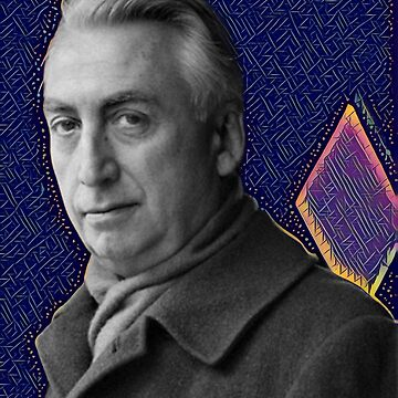 Roland Barthes - stylized by jaxxmc