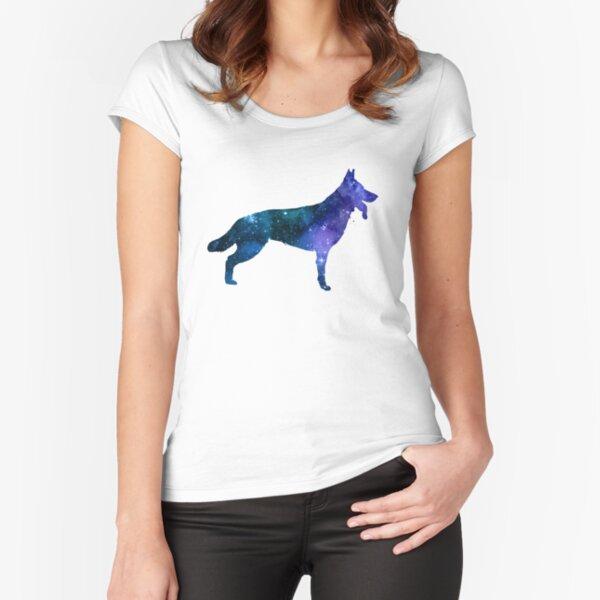 German Shepherd Fitted Scoop T-Shirt