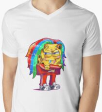 6ix9ine SpongeBob Men's V-Neck T-Shirt
