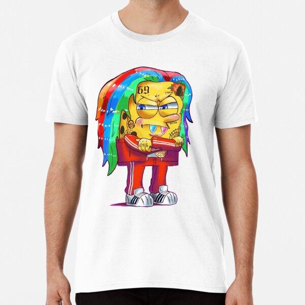 6ix9ine SpongeBob T-shirt premium