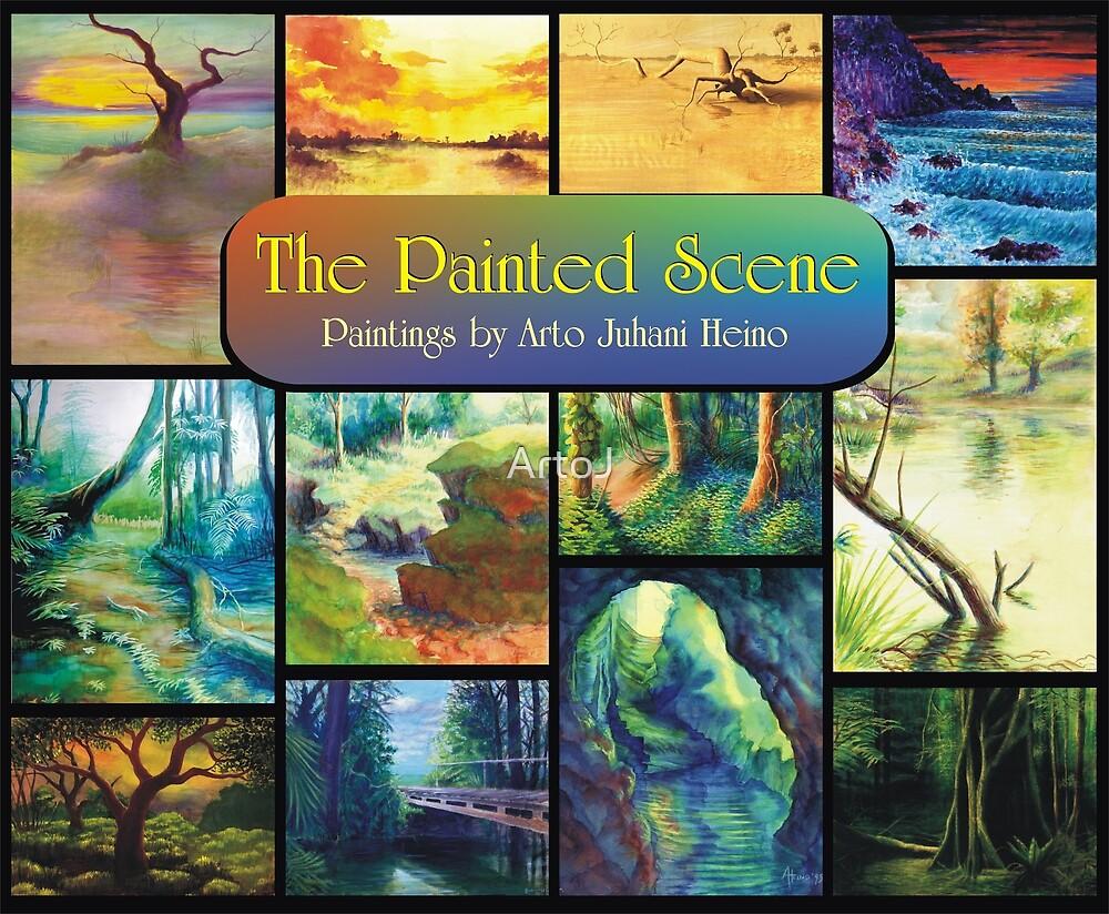 The Painted Scene - Calendar Cover by ArtoJ