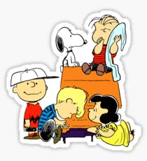 Charlie Brown and Friends Sticker